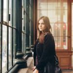 Portrait in Prague Old town - Film photography - Masarykova nadrazi