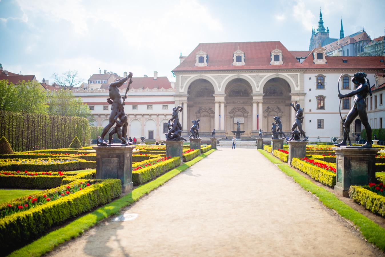 Wallenstein Garden - Valdštejnská zahrada
