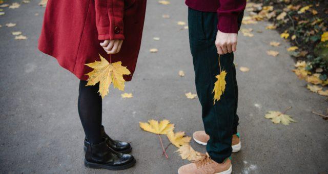 Autumn photo shoot in Prague